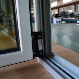 Finestra interna di inclinazione e di girata di profilo di alluminio termico della rottura Kz266 con la multi serratura
