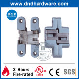 火Rated Steel DoorsのためのSs304 Concealed Hinge