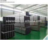 Einzelne Überspannungs-hochfester Stahlrahmen China-Q235 Wiskind
