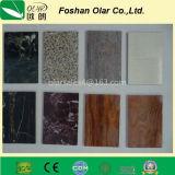 Panneau de ciment en fibre - Revêtement UV Texture nominale de surface à pointe multiple