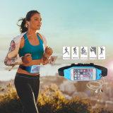 スポーツのスマートな電話のためのイヤホーンの把握が付いている防水ウエスト袋