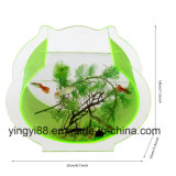 Tazones de fuente de cristal al por mayor de los pescados