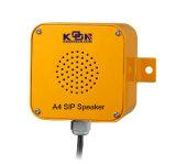 Amplificateur résistant de haut-parleur du vandale sec SIP de Kntech A4