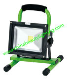 Diodo emissor de luz Flood Light do diodo emissor de luz Floodlight do diodo emissor de luz 10W Rechargeable