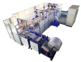 Plastik gesponnene Kleber-Beutel-Produktions-Maschine