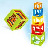 Brinquedo plástico Jenga do bebê do brinquedo (H9327005)