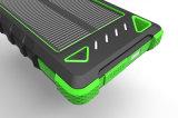 태양 방수 태양 에너지 은행 10000mAh 태양 이동 전화 충전기