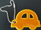Car Shapeの反射Key Chain