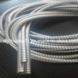 Conducto flexible del cable del acero inoxidable