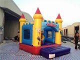 château plein d'entrain gonflable de PVC de 0.55mm pour le jeu de gosses