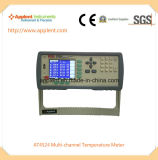 Bildschirmanzeige-Thermometer Platin-Widerstand-Thermometer-Digital-LCD (AT4524)