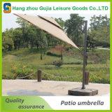 3mの片持梁市場庭浜の屋外の日よけの傘