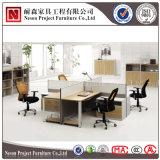 금속 구조 워크 스테이션 상한 사무실 분할 대중적인 사무실 책상 (NS-PT047)