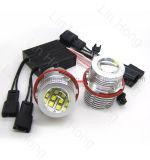 Ojos del ángel de la etiqueta de plástico E87 E60 de E39 60W 12LED LED para la linterna E61 E63 del coche