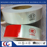 赤およびWhite PVC Crystal Lattice Reflective Tape (C3500-B (D))