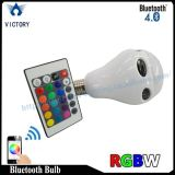 Luzes de bulbo do diodo emissor de luz do altofalante do bulbo do PC 10W E27 Bluetooth