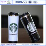 熱いSale Double Wall Stainless Steel Starbucks MugかPaper InsertのCoffee Mug Tumbler