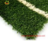 Superficie artificial de calidad superior de la alfombra de hierba para el tenis Campo