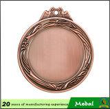 Neuestes Customized Souvenir 3D Blank Metal Medal mit Ribbon