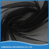 Пустое Black Silk Lace Fabric Supplier для Dress
