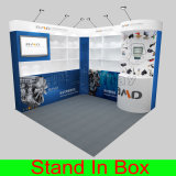 주문 Portable Modular Trade Show Exhibition Stall Design 8FT 10FT
