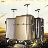 Bw1-059方法現代様式袋純粋なカラーABS+PCアルミニウムスーツケース