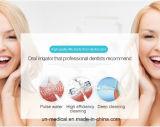 Irrigador dental dental portable para el uso del recorrido