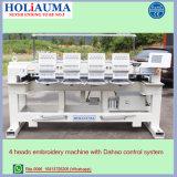 Holiauama 4 kleidet Hauptcomputer-Stickerei-Maschine mit Hut Shirt-Stickerei-Preise