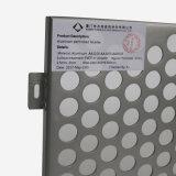 Het Ronde die Gat van uitstekende kwaliteit perforeerde Aluminium in China wordt gemaakt