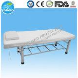 Устранимая Nonwoven обложка кровати с эластиком для стационара