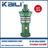 Pompa sommergibile Oil-Filled delle acque pulite della pompa di QY (singola fase)