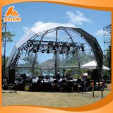 屋外コンサートの段階の屋根のトラスシステム、アーチのトラス