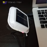 태양 강화된 LED 야영 가벼운 독서 빛 (T7091)