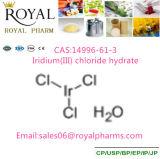 Het Hydraat CAS van het Chloride van het iridium (iii): 14996-61-3 die met Zuiverheid 58.0% door Fabrikant wordt gemaakt