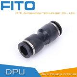 Tipo aire neumático Conncetor de Airtac del tacto de la guarnición una de la PU