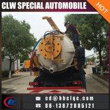 4X2 10mt 하수 오물 내뿜는 차량 하수구 준설 및 정리 유조 트럭