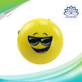 Altavoz sin hilos portable de Bluetooth de la cara de la sonrisa mini con el sostenedor