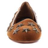 Zapatos causales de las ventas de las mujeres planas superiores calientes de la estrella (YF-30)