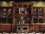 Armadio da cucina di superficie perfetto diVendita di legno solido del bordo del modello 2014 dell'armadio da cucina e della ciliegia del portello