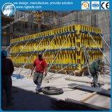 Encofrado de la pared de la viga de la madera para la construcción de edificios de colada concreta de la pared