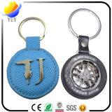 Heißes Verkaufs-neues Entwurfs-Leder-Schlüsselkette
