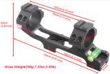 Alumínio claro extra 30mm 25mm nível Cant do espaço do nível de bolha do nível de espírito do dispositivo do espaço dos anéis de montagem de um Riflescope de 1 polegada anti