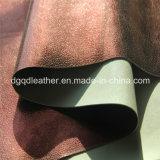 이중 면 PU 신발 가죽 (QDL-SP026)