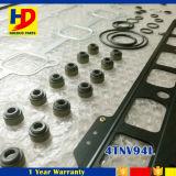 Jogo de revisão ajustado da gaxeta da gaxeta cheia do motor 4tnv94L 4tnv94 do Forklift