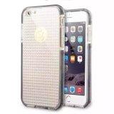 Caixa de cristal do telefone da faísca de Bling do Rhinestone do diamante de Brown para a caixa do telefone iPhone7plus/8/Note8