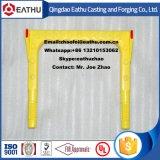 Plastiküberzug-formbares Eisen-Einsteigeloch-Jobstepp