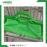 Supermarkt Polyetser Gewebe Foldabe Einkaufen-Laufkatze-Beutel