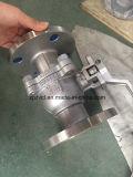Válvula de esfera flotante API pestaña de extremo de acero inoxidable