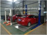 Alta automobile 2 che parcheggia parcheggio automatico