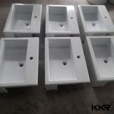 Kundenspezifische Art Corian feste Oberflächenwand hing Wäsche-Bassin